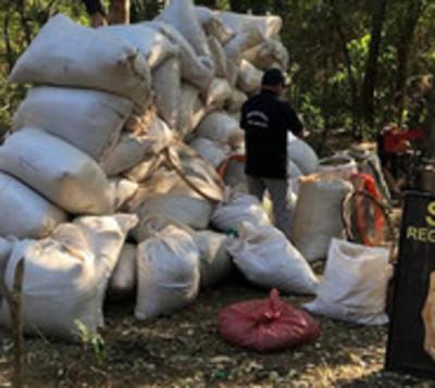 Senad desmantela mega estructura narco en Amambay