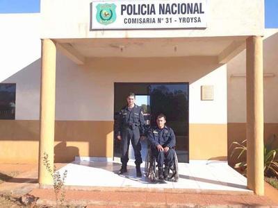 El policía ejemplo