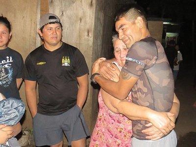 Pantera Moray y el conmovedor reencuentro con su familia