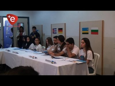 Implementan modelo de Naciones Unidas en el CCPA de Encarnación.