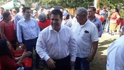 HOY / San Pedro: piden a Cartes que puje en elecciones para la presidencia de la ANR