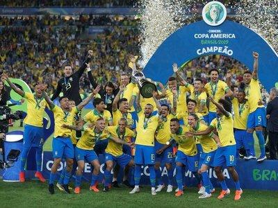 Los números finales de la Copa América reafirman el dominio de Brasil