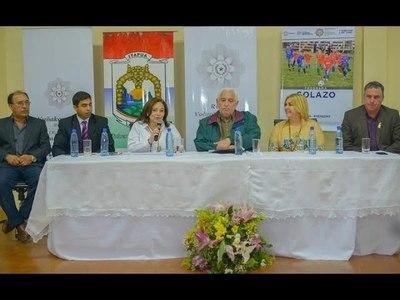 PRESENTAN EN ITAPÚA, PLAN NACIONAL DE DESARROLLO DEPORTIVO