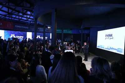 Itaipu inauguró su stand en la Expo con anuncio de nuevos emprendimientos
