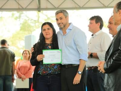 Emprendedoras rurales de Cordillera reciben respaldo estatal