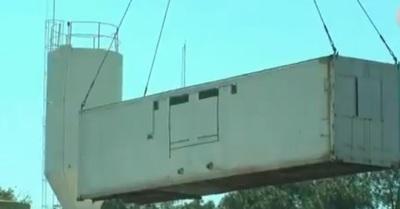 Alojan a reos en contenedores por falta de espacio en cárcel