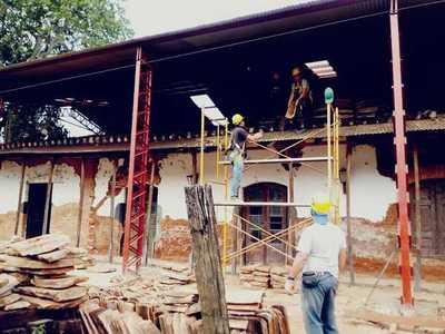 Se encuentra en plena ejecución los trabajos para rescatar dos patrimonios históricos
