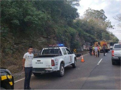 Brasileño muere en accidente de tránsito en el cerro Caacupé