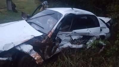 AHORA: JOVEN MUERE TRAS VOLCAR SU AUTOMÓVIL SOBRE LA RUTA 6 EN BELLA VISTA