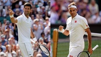 Federer vs Djokovic, la batalla por la gran final de Wimbledon