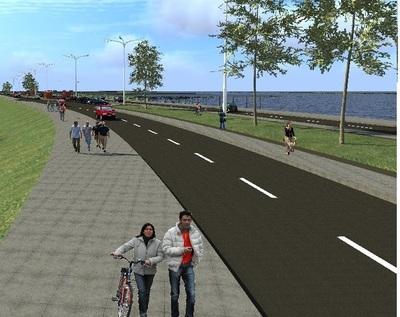 Costanera Sur tendrá Parque lineal y permitirá tráfico más fluido, destacan