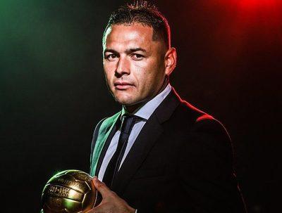 Pablo Aguilar, balón de oro en México