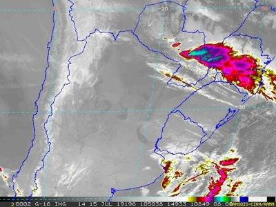 Pronostican jornada fresca y tormentas en centro y este de la región Oriental
