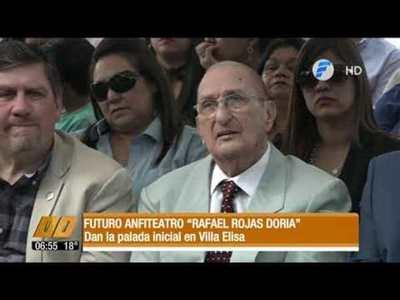 """Futuro anfiteatro """"Rafael Rojas Doria"""""""