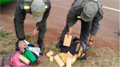 Argentina: Detienen a paraguayos que viajaban con marihuana en un ómnibus