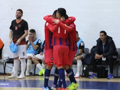 Goleada azulgrana en la segunda fecha de la Libertadores de futsal