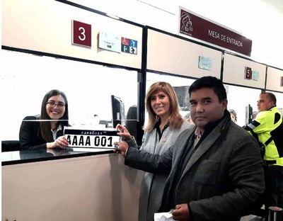 Dirección de Automotores entregó más de 7.300 nuevas patentes del Mercosur