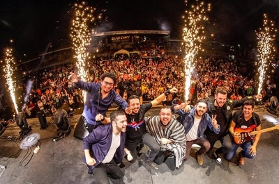 Tierra Adentro lanza su nuevo disco con un show en la Expo