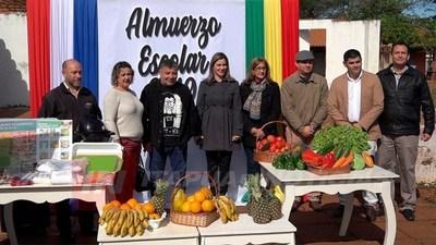 LANZAMIENTO DE ALMUERZO ESCOLAR SE REALIZÓ EN CNEL. BOGADO.