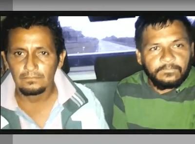 DETUVIERON A SUPUESTOS AUTORES DEL MÚLTIPLE CRIMEN EN CHACO