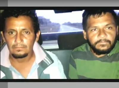 Hermanos son detenidos por múltiple crimen en el Chaco