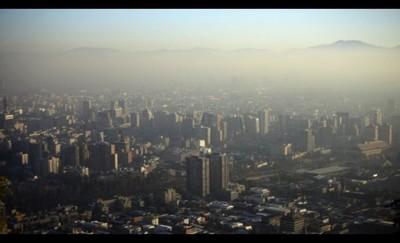 Preemergencia en Santiago de Chile por mala calidad del aire