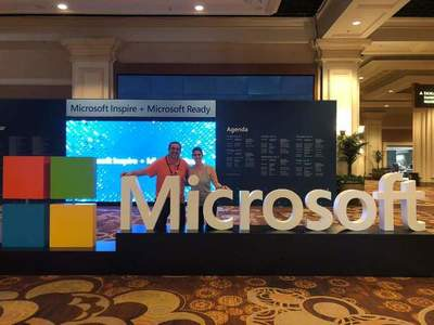 """""""Como campeones"""" reciben al Grupo OLAM en el mayor evento de Partners de Microsoft, en Las Vegas, EE.UU."""