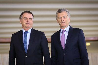 Bolsonaro respalda reelección de Macri