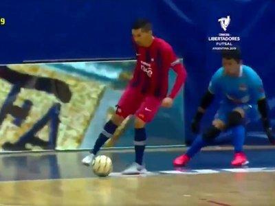 El golazo de Cerro Porteño en la Libertadores de futsal