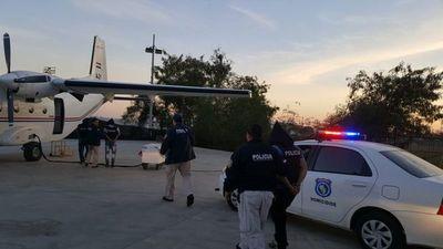 Sospechosos de cuádruple crimen fueron trasladados al Chaco