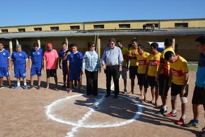 Fútbol y campeones: arranca temporada en penal La Esperanza