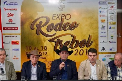 Lanzan edición N° 45 de la Expo Rodeo Trébol