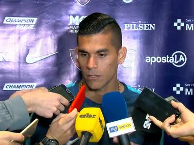 Camilo Saiz habla antes del partido contra Atlántida