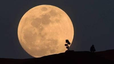 Un eclipse lunar parcial en el 50º aniversario de la llegada a la Luna