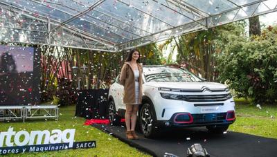 Citroën presentó la nueva C5 Aircross y espera el mismo éxito del C4 Cactus