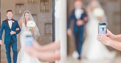 """El """"chekuerái"""" que hizo una fotógrafa de bodas"""