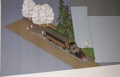 Réplica de Tren Lechero servirá para una biblioteca virtual