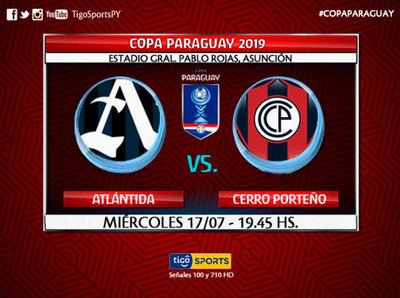 Cerro debuta en la Copa de todos