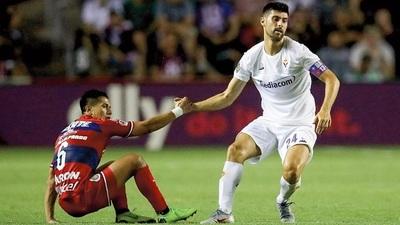 Fiorentina gana en el debut de la International Champions Cup