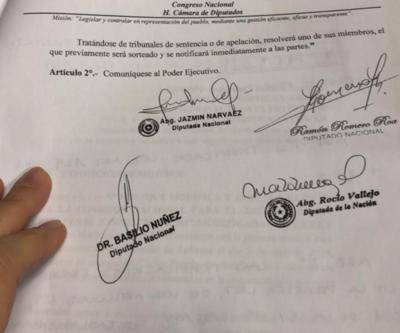 Diputados aprueban modificaciones temporales al Código Procesal Penal