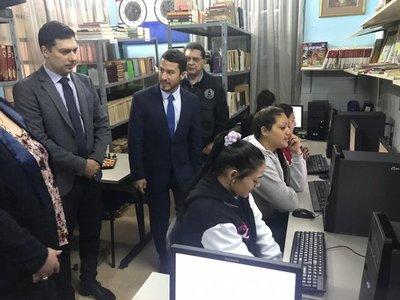 Habilitan cursos de informática en la Penitenciaría de Mujeres del Buen Pastor