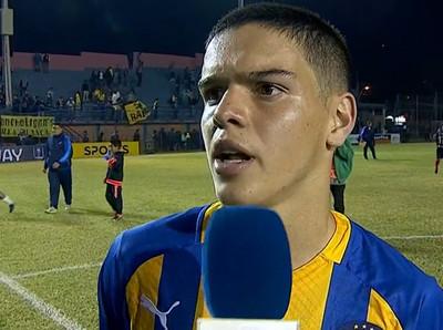Diego Fernández, el destacado ante 1° de Marzo por la Copa Paraguay