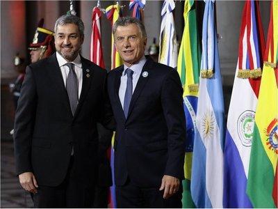 Mario Abdo resalta acuerdo UE