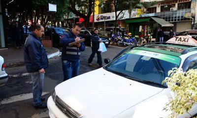 Inicia censo de paradas de taxis en CDE