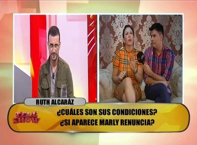 Ruth Alcaráz se despachó contra Carlos Gómez