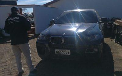 Entregan a autoridades brasileñas vehículo robado en ese país