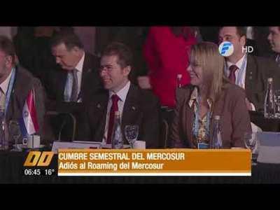 Adiós al roaming del Mercosur