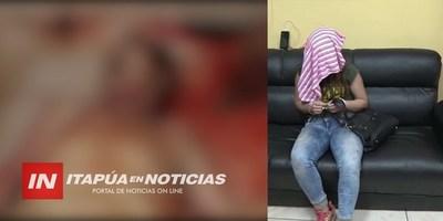 JOVEN ES CONDENADA POR HOMICIDIO DE EMPRESARIO EN EL CIRCUITO COMERCIAL DE ENCARNACIÓN