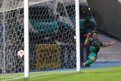 El 'Pika' alegró al papá de un jugador de Atlántida