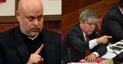 Enrique Riera y Payo Cubas a las manos
